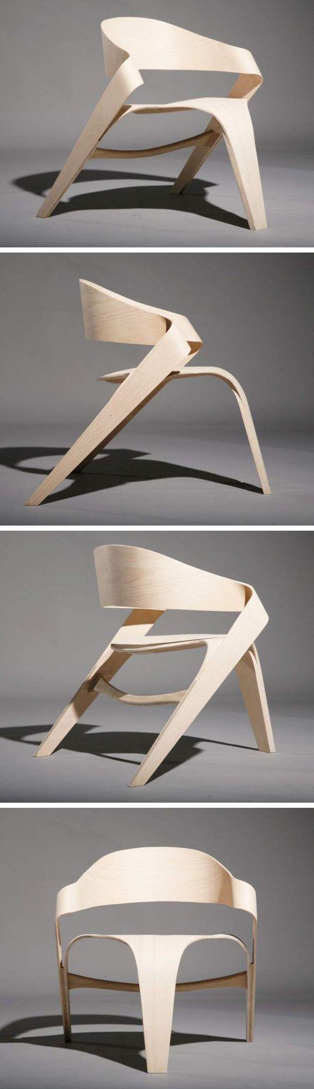 The Copenhagen Chair by Alvaro Uribe