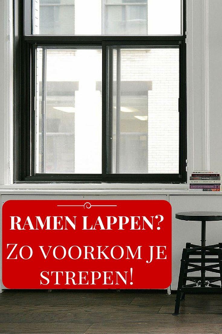 RAMEN LAPPEN – ZO VOORKOM JE STREPEN ● De lente is in aantocht.  Een mooie tijd om de ramen weer eens een beurt te geven!  Je wilt natuurlijk wel graag kraakheldere, glanzende – en vooral – streeploze ramen.  Dan is dit wat je even moet weten…  Lees meer >> http://hallosunny.blogspot.nl/2016/03/schone-ramen-zonder-strepen.html