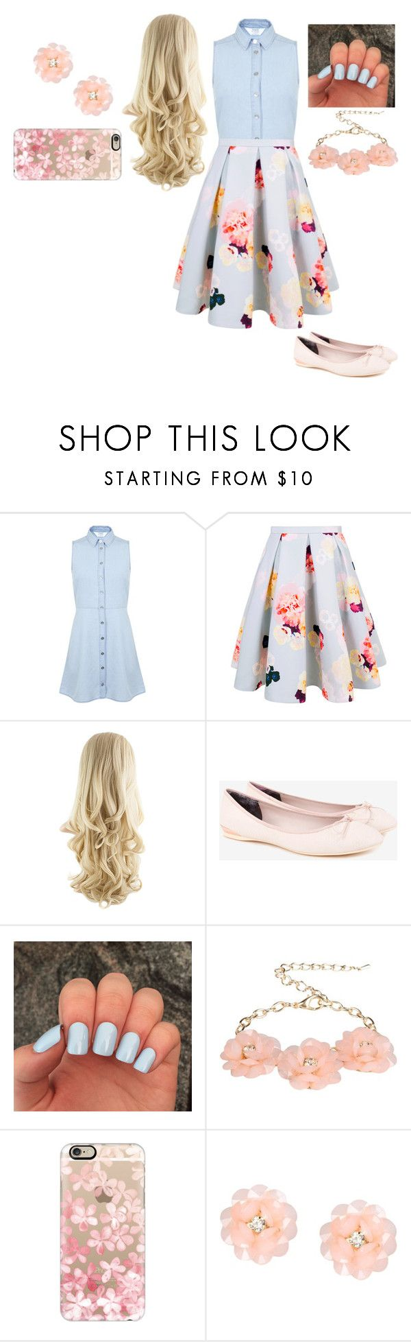 """""""Audrey (daughter of aurora)"""" by themightytiff ❤ liked on Polyvore featuring Miss Selfridge, Keepsake the Label, Ted Baker, Dettagli and Casetify"""
