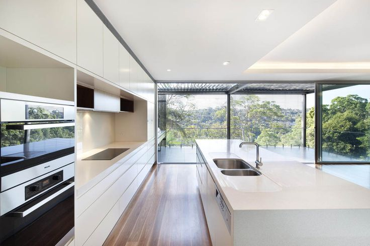 Kitchen colour ideas 9141 Ice Snow™ - Caesarstone.com.au