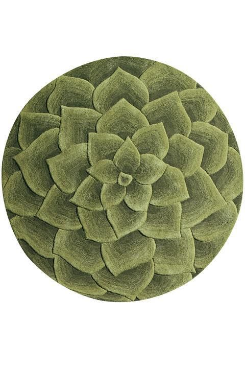 Corolla Area Rug Love The Sculpted Look Of This And Its Sage Green