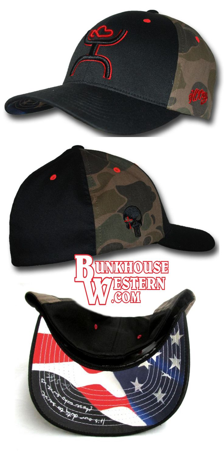 """Chris Kyle, Camo FlexFit Cap, Get Your HOOey, """"It is our duty to serve those who serve us"""" USA, Military, Sniper, America, $34.98, http://www.bunkhousewestern.com/7562_p/7562.htm"""