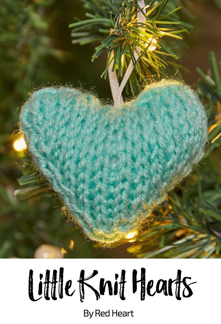 667 best christmas time images on pinterest christmas tree little knit hearts free knit pattern in super saver bankloansurffo Choice Image