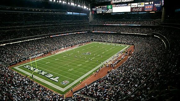 NRG Stadium in Houston, TX. Home of the Houston Texans!