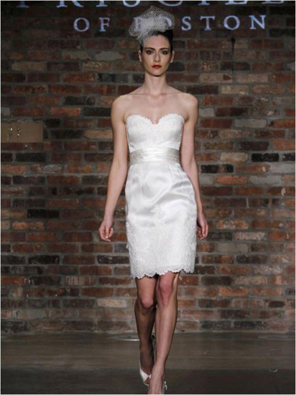 Pencil Skirt Wedding Dress