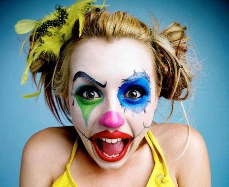 Thats some cool clown makeup  BUT  will
