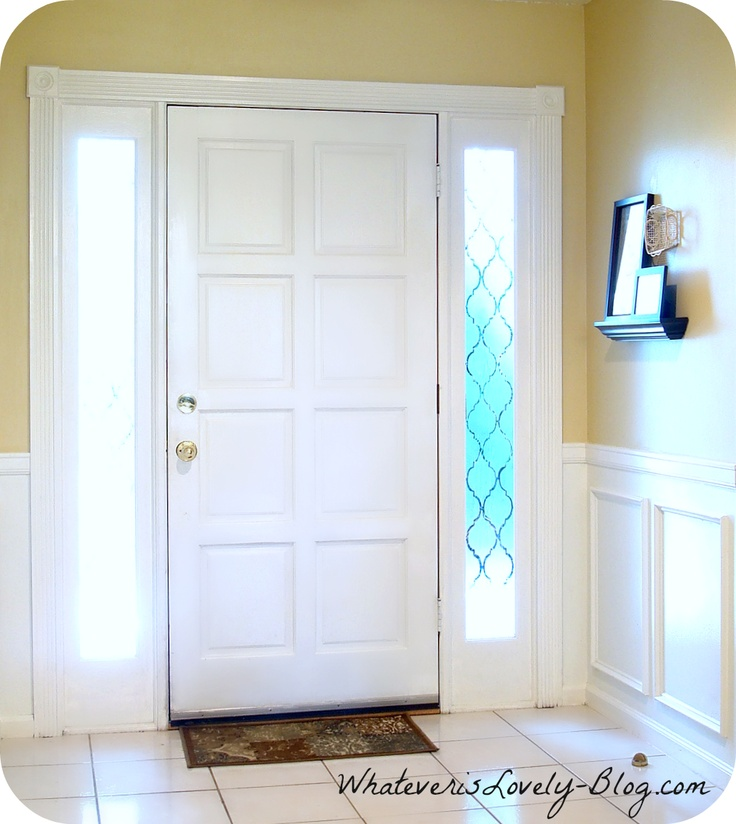 Faux Wainscoting