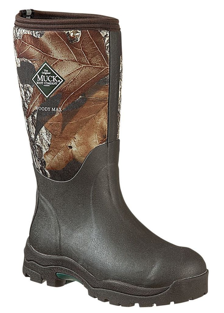 The Original Muck Boot Company Woody Max Fleece-Lined Hunting Boots for Ladies | Bass Pro Shops: The Best Hunting, Fishing, Camping & Outdoor Gear