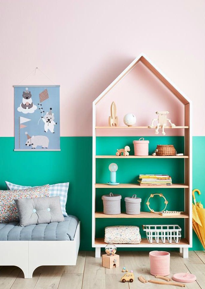 Try this unusual colour combo (that you probably haven't thought of). 5 incredibly beautiful kids rooms to inspire you https://petitandsmall.com/unusual-colour-combo-kisd-room/ #kidsroom #kidsroomdecor #kidsinterio #homedecor #interior