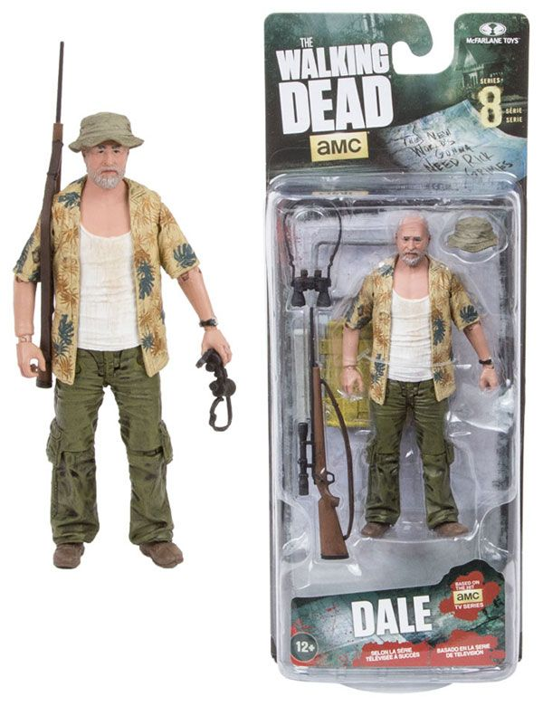 McFarlane Toys The Walking Dead Series 8 Dale Horvath Action Figure $14.99