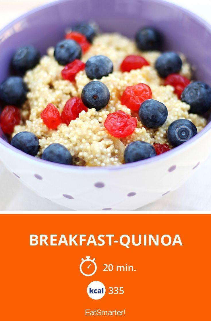 Breakfast-Quinoa - smarter - Kalorien: 335 Kcal - Zeit: 20 Min. | eatsmarter.de