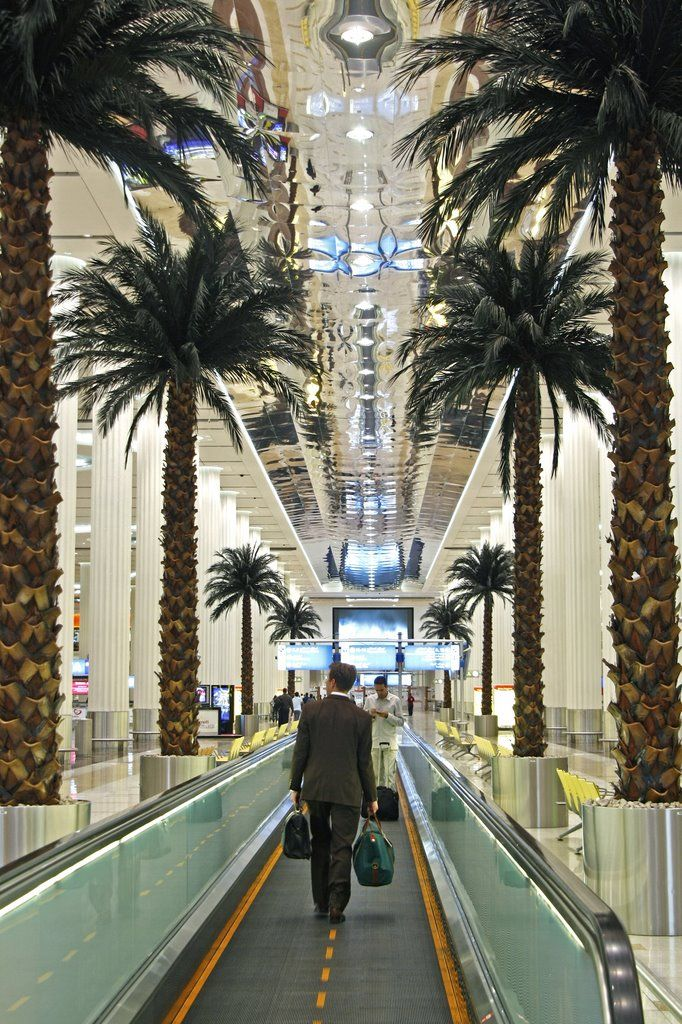 Dubai International Airport (DXB), Dubai, UAE https://www.hotelscombined.com/Place/Dubai.htm?a_aid=111766&label=dubpint