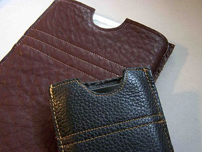 For a journal too! Think I need to plan out a sewing project :) easy DIY Faux Leather eReader/phone/electronics cover