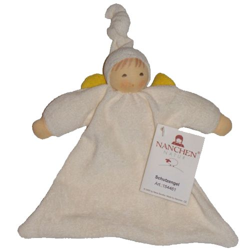 Nanchen Guardian Angel Waldorf Doll. Organic cotton Perfect first doll for baby!: Angel Waldorf, Baby Products, Waldorf Dolls, Guardians Angel, Natural Baby, Baby Toys, Baby Things, Angel Dolls, Guardian Angels