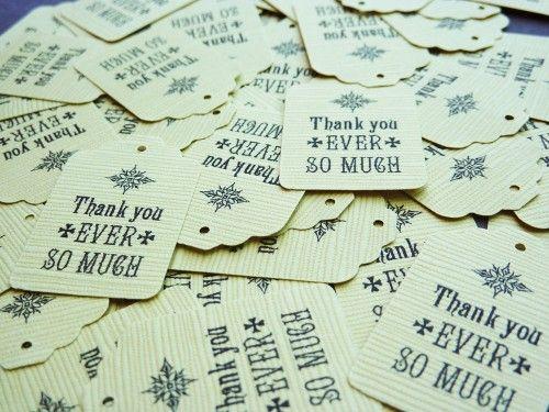 Thank you Tags #printables