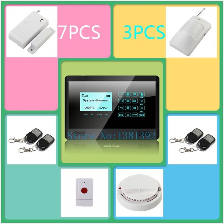(124.45$)  Watch here  - Wireless GSM SMS TEXT Touch Keypad Home House Alarm System Emergency Panic 850/900/1800/1900MHz P31