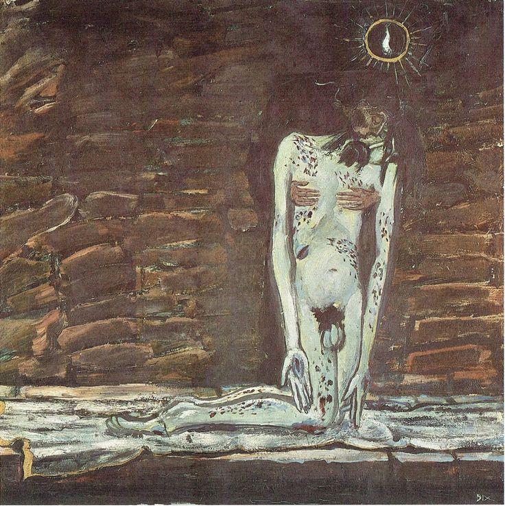 Otto Dix - Pietà, 1912
