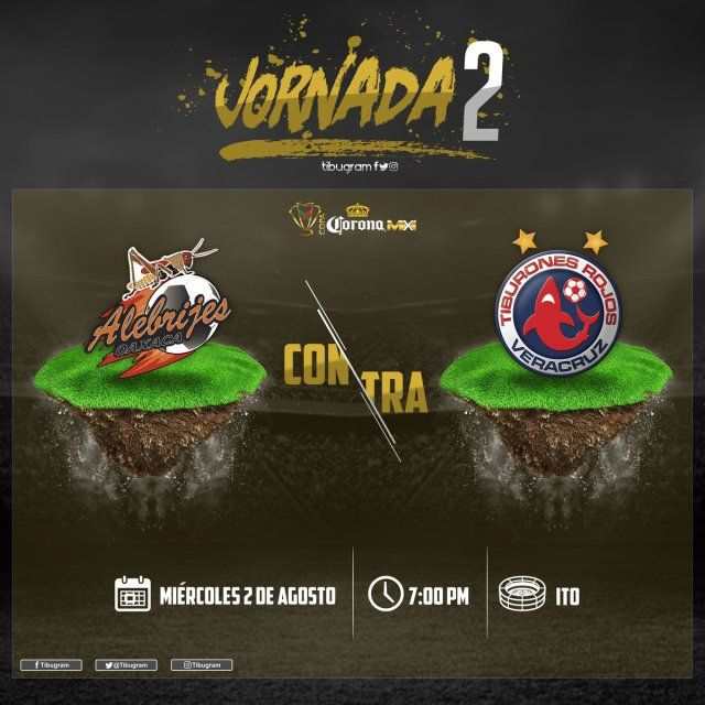 Alebrijes vs Veracruz en Vivo Copa MX 2017
