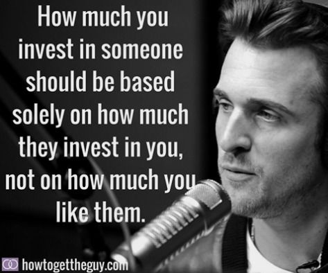 Matthew hussey dating advice