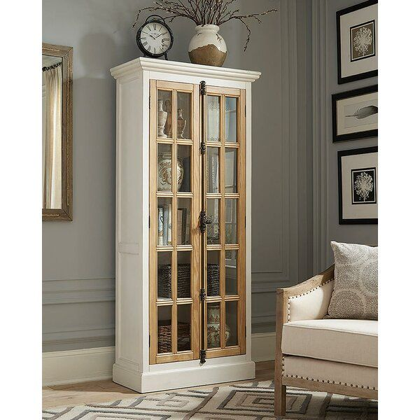 New Home Furnishings 2 Door Curio Cabinet Antique White Farmhouse Rustic Shabby In 2020 Curio Cabinet Coaster Furniture French Furniture