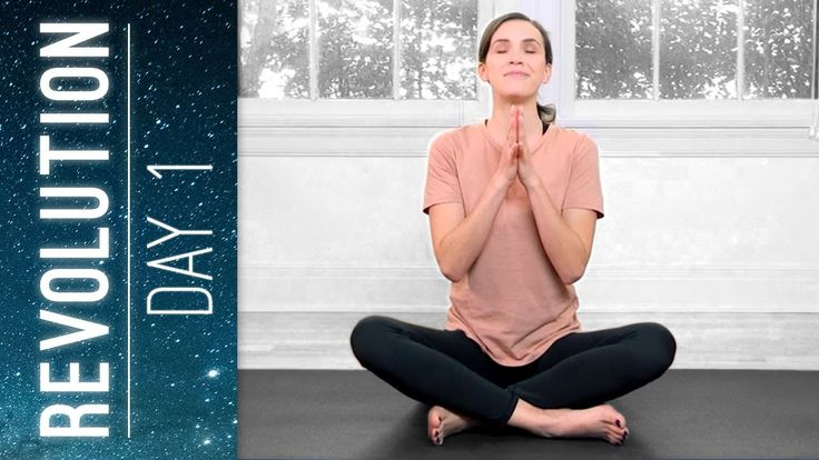 Your Day 1 yoga practice is about setting the tone for your journey by establishing ease. We clear the slate and start fresh welcoming soft stretching, gentl...