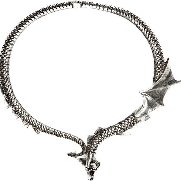 River Island Silver tone short dragon necklace ($6.48) ❤ liked on Polyvore featuring jewelry, necklaces, accessories, silvertone necklace, metal necklace, river island, silver tone necklace and short necklaces