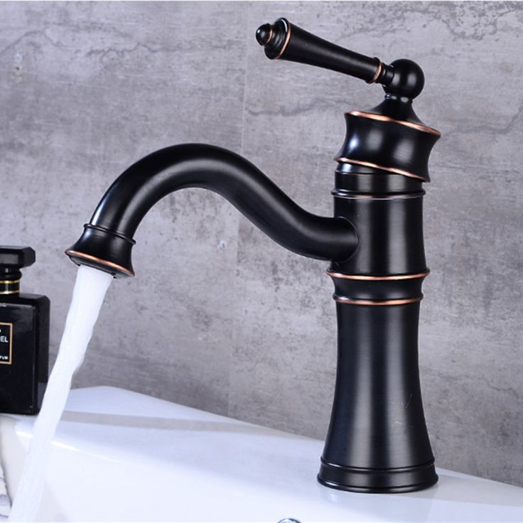 Basin Faucets Black Bathroom Faucet Mixer Vintage Hot And Cold Wash Basin Mixer Tap Sink Single Handle Crane. Yesterday's price: US $104.00 (85.19 EUR). Today's price: US $57.20 (47.06 EUR). Discount: 45%.