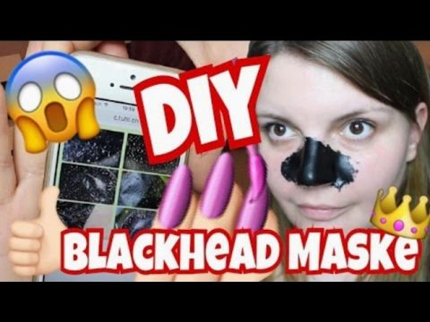 Blackhead Anti Mitesser maske ohne klebstoff - YouTube