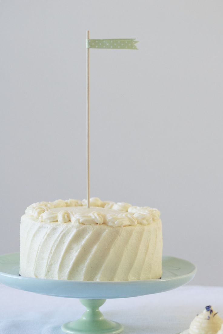 six-inch classic white layer cake {and a warning about airplane toilets} | Gives a recipe for one 2-layer 6-inch white cake.  Nice to know for when I only want to make enough cake for two.  Quick hint: to make a 2-layer 6-inch cake out of a 2-layer 9-inch recipe, simply cut the recipe in half.