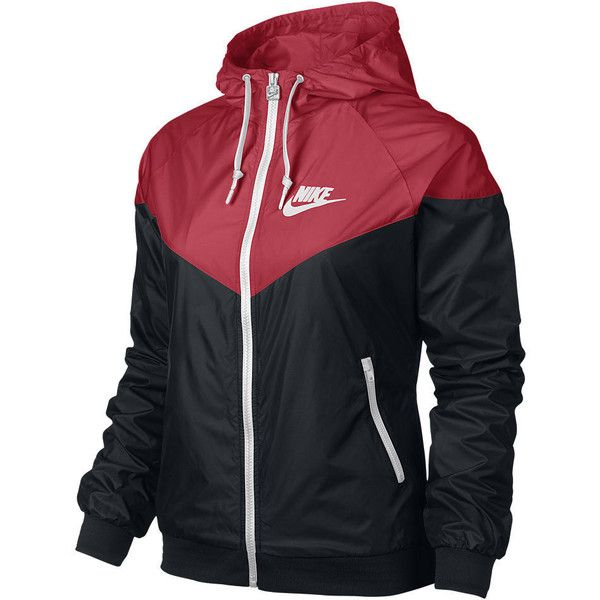 Nike Windrunner Women's Jacket (1,030 MXN) ❤ liked on Polyvore featuring activewear, activewear jackets, jackets, outerwear, nike sportswear, nike, nike activewear and athletic sportswear