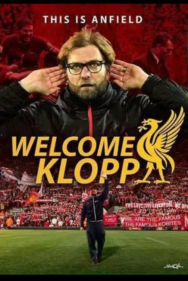 Jurgen klopp will Be announced as manager of Liverpool on Friday!!!!