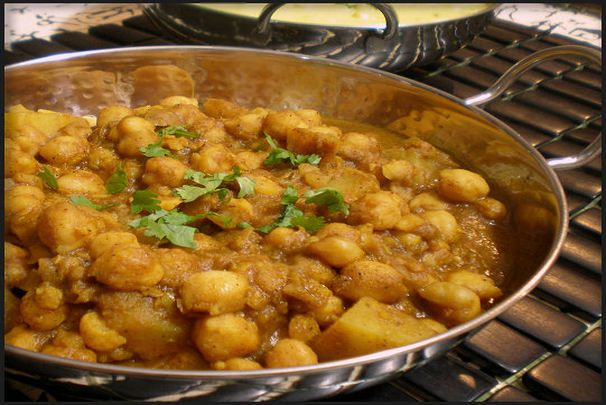 I love chick peas. Delicious and good for you too!