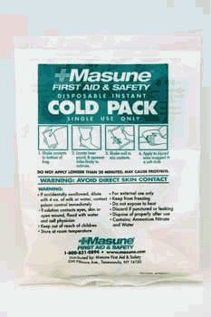 Masune 362513 Masune Single Use Cold Pack- Case of 50 by Masune. $129.53. Same quality as competitive brands at a more economical price. Simply squeeze to activate for cold treatment. No refrigeration necessary. Box of fifty. Due to the contents of this product only ground shipment method is available. Warning Cramer Kwik-Kold Kwik-Heat Instant Deluxe and J Instant Cold Pack are restricted to ground shipments only. Cold Spray contents under pressure. Aerosol spra...