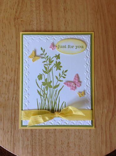 Pretty spring/summer card