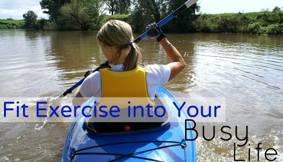 How to Fit Exercise into Your Busy Life: Building, Kayaks, Fit Exercise, Healthy Weights, Healthy Habits, Business Life, How To, Cancer Survivor, The Roller Coasters