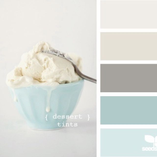 Another great source of pinspiration for our Right Bath Right Now Dream Bathroom Contest. ICE CREAM COLOR PALATTE!