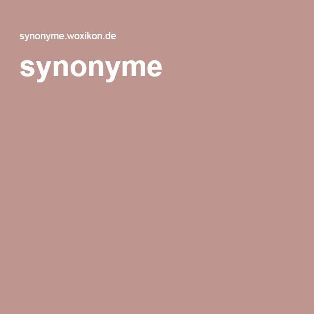 synonyme