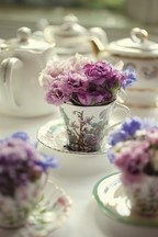 Vintage Crockery - Hire available for weddings, tea parties and special occasions