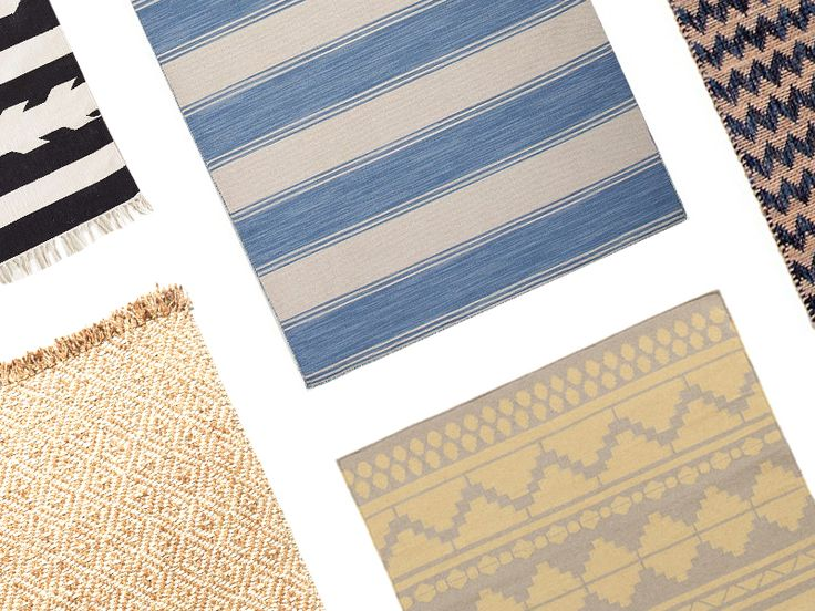 6 Chic Patterned Kitchen Runners via @MyDomaine