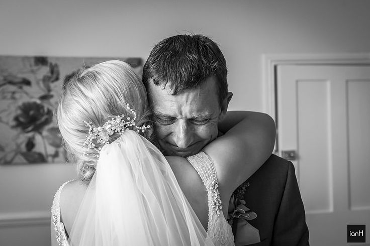 Another in this occasional series of why I love particular images from weddings.Tonight, Dad's first look, filled with emotion.