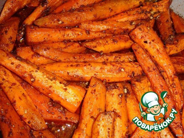 Острая запеченная морковь ингредиенты