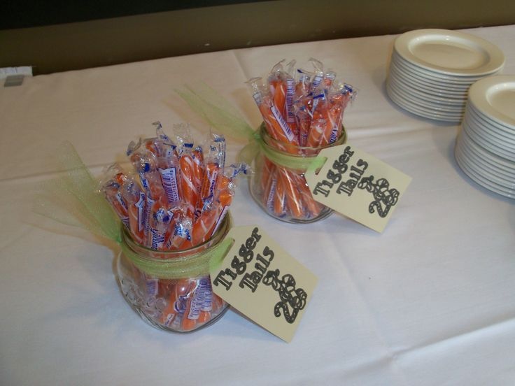 Winnie The Pooh Baby Shower   Tigger Tails