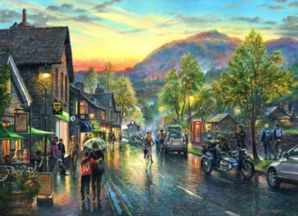 Grasmere by Twilight Signed Print by Graham Twyford