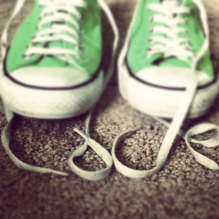My lovely converse<3 I took the laces and spelled out love<3 I live this picture an my converse<3