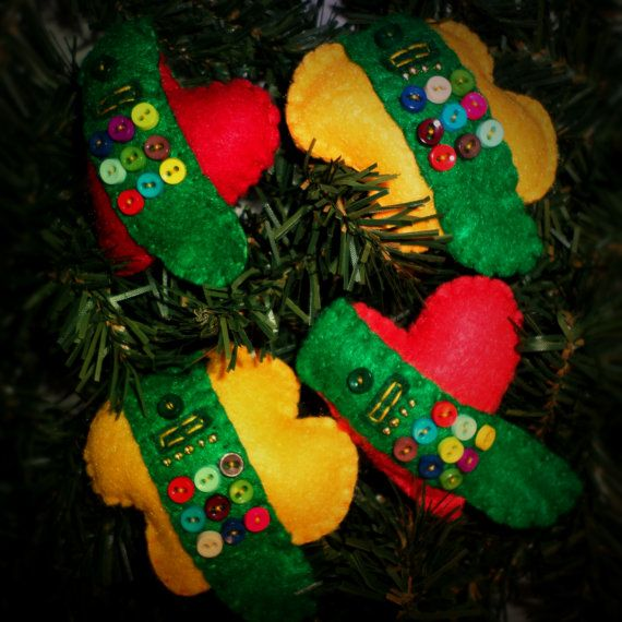 Girl Scout Sash Ornament on Etsy, $6.00
