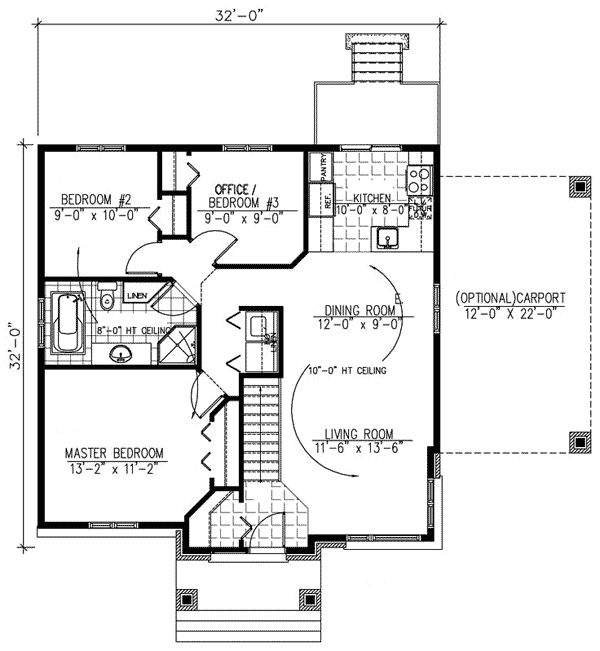 Attractive Contemporary Home Plan - 90166PD | 1st Floor Master Suite, CAD Available, Canadian, Contemporary, Den-Office-Library-Study, Metric, Narrow Lot, Northwest, PDF | Architectural Designs