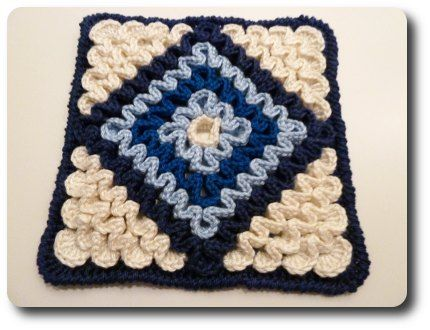 Wiggly Hot Pad By Barbara Smith - (Part 1) - Free Crochet Pattern - See http://made-in-k-town.blogspot.com/2011/09/wiggly-tutorial-2.html For Part 2 - (made-in-k-town.blogspot)