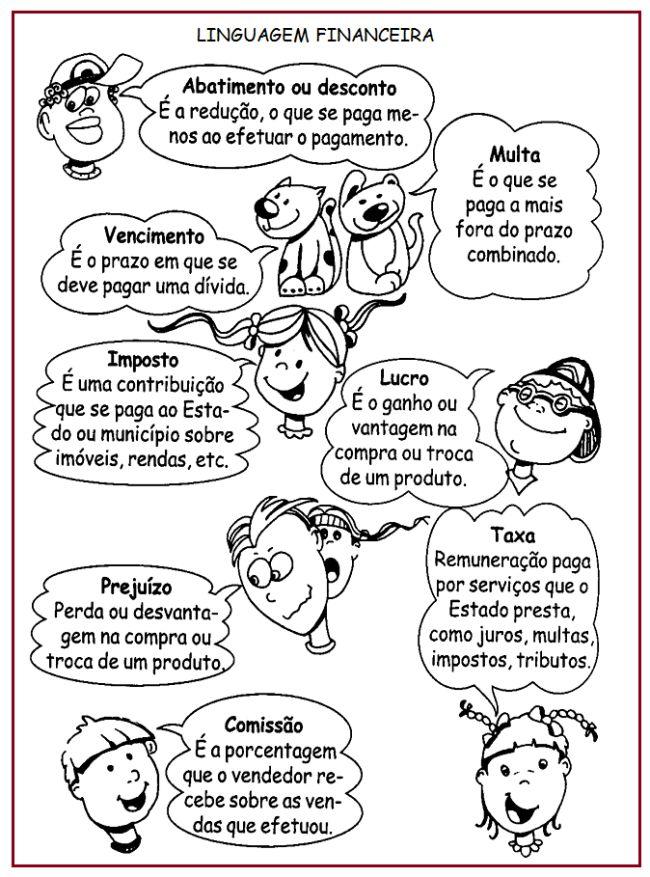 Linguagem Financeira  |   Rérida Maria