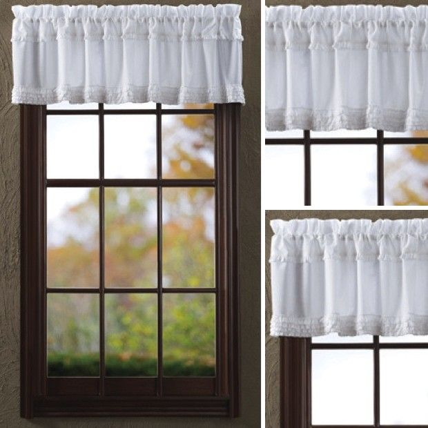 Best 25+ White Valance Ideas On Pinterest