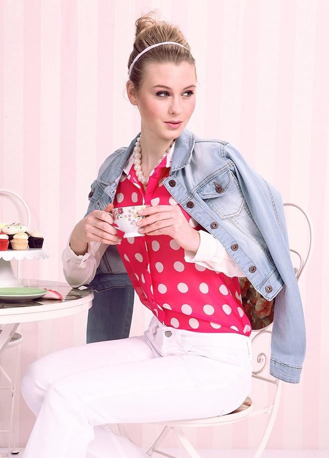 Pink Lady Gömlek Markafonide 59,90 TL yerine 19,99 TL! Satın almak için: http://www.markafoni.com/product/3851720/